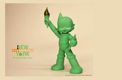 New York Comic Con 2018 Exclusive Astro Boy Statue of Liberty Glow in the Dark Edition Vinyl Figure by ToyQube x FYE