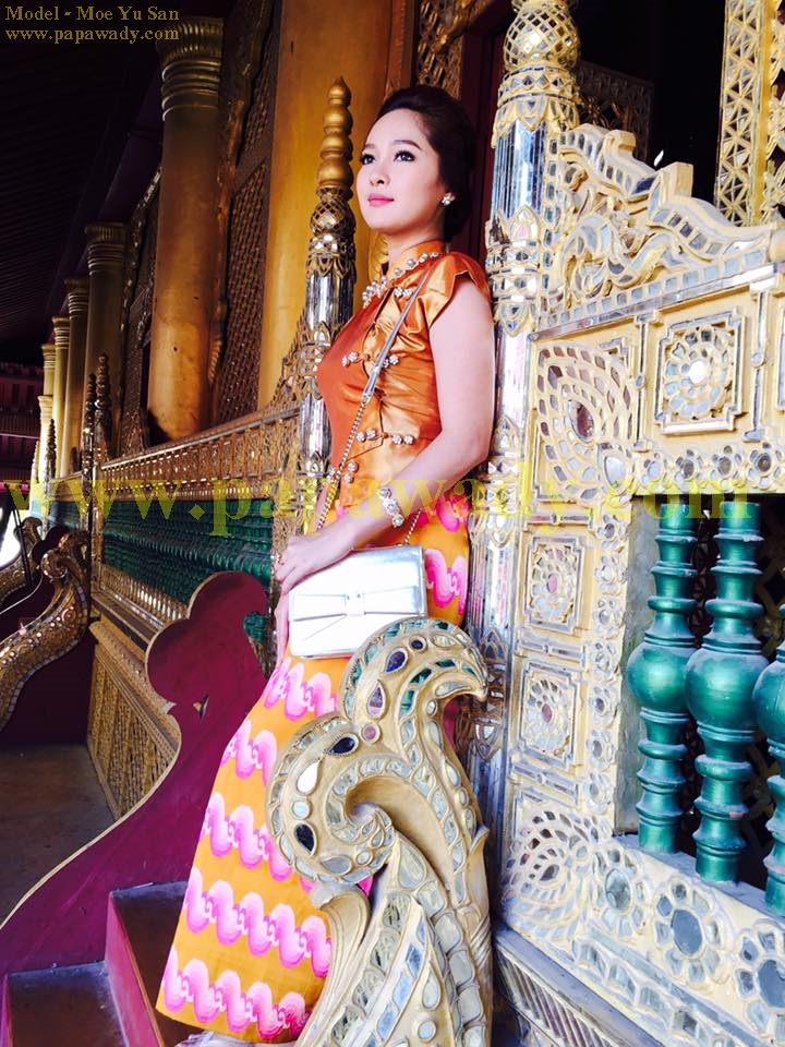 Famous Actress Moe Yu San in Mandalay Pictures