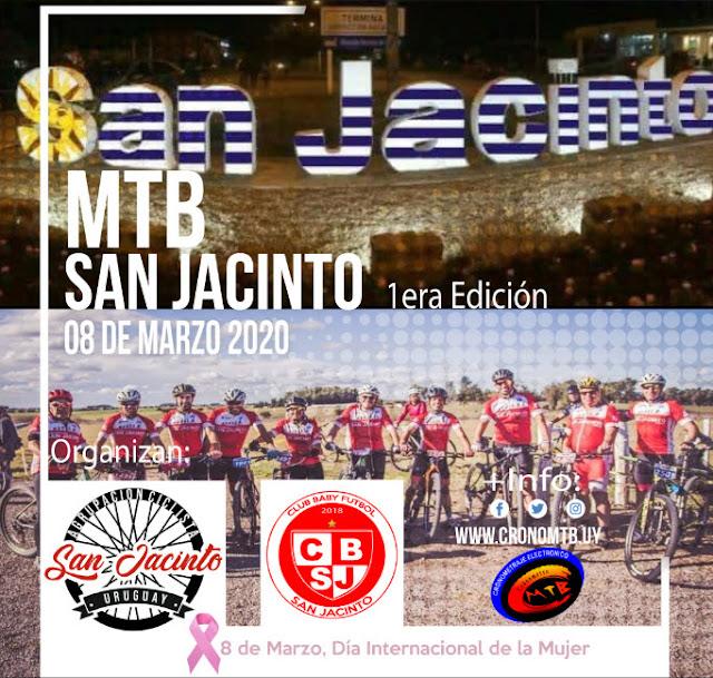 MTB - San Jacinto (1a.ed.; San Jacinto - Canelones, 08/mar/2020)
