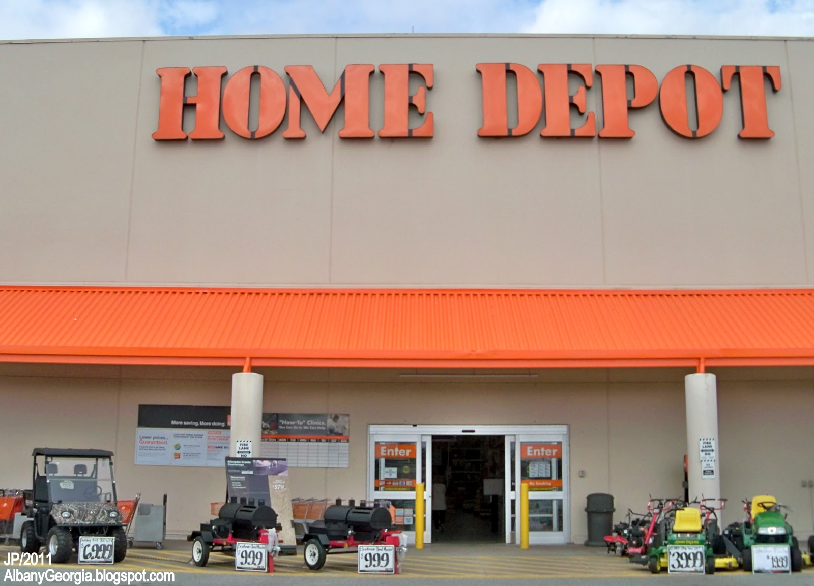 Bank Home Depot Albany Georgia Dougherty Restaurant Bank Hotel Attorney Dr