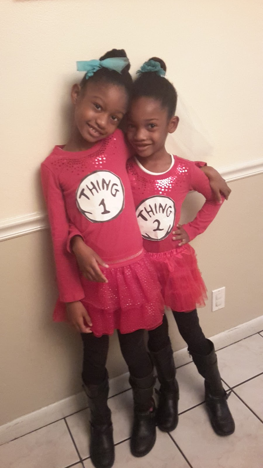 Anointedheels Easy Diy Thing 1 And Thing 2 Costume For Dr Seuss Week