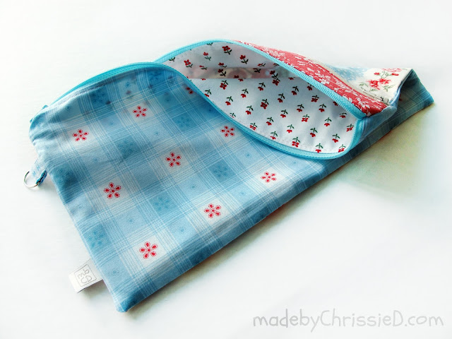 Back To School Pencil Case @madebyChrissieD.com