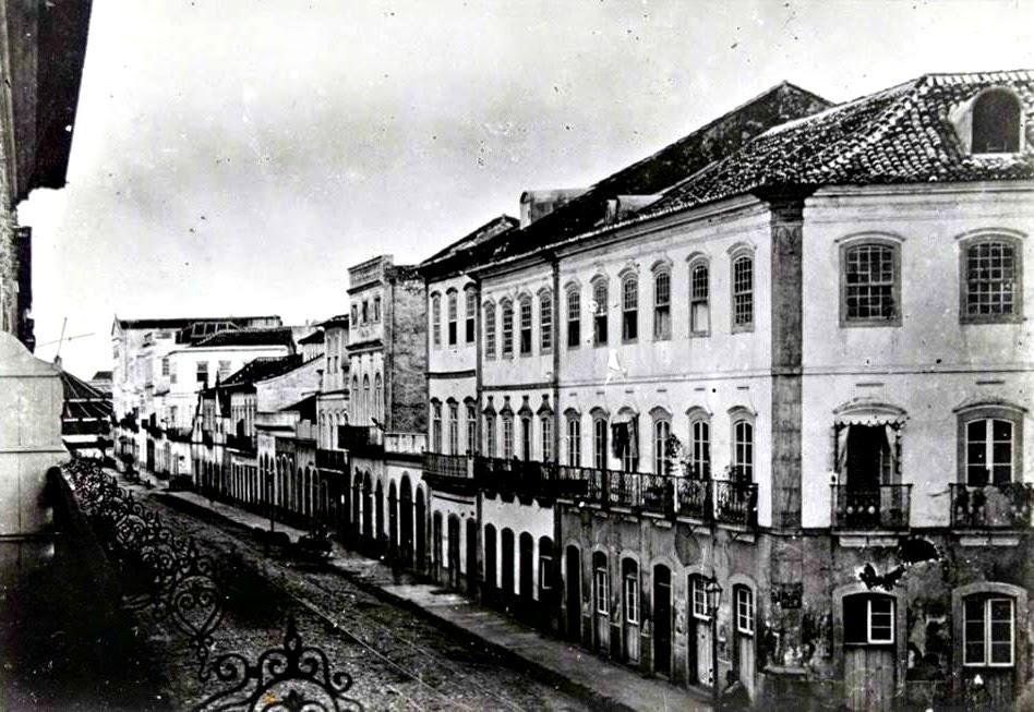 Rua Sete de Setembro, Porto Alegre, em 1885