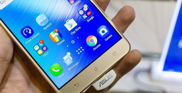 Cara Hard Reset ASUS Zenfone 3 Laser ZC551KL Melalui Recovery Mode