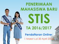 Penerimaan Mahasiswa Baru STIS TA 2016/2017