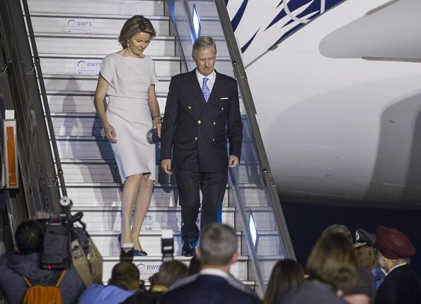 King Philippe and Queen Mathilde of Belgium arrived in New Delhi
