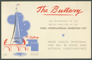 An advertisement for the Buttery restaurant.