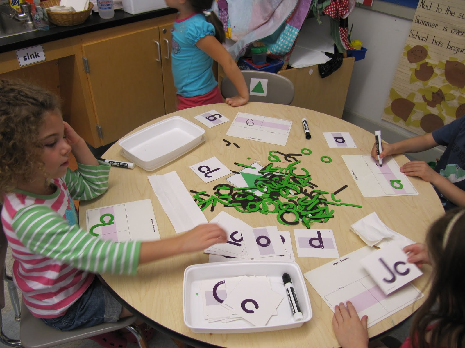 Kc Kindergarten Times Handwriting Stations