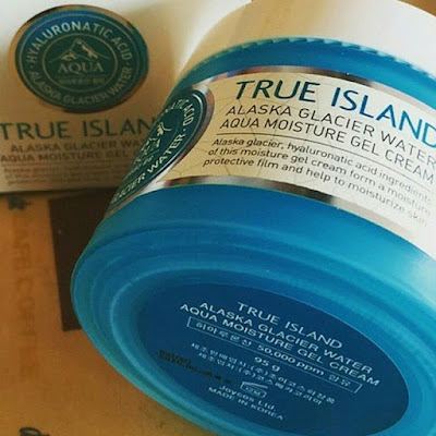 TRUE ISLAND ALASKA GLACIER WATER CREAM