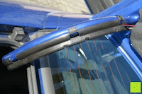 Kabelverlauf: AUTO VOX M1 Auto Rückfahrkamera mit Monitor 4.3'' TFT LCD Rückansicht Bildschirm mit IP68 wasserdichte Kamera für Einparkhilfe&Rückfahrhilfe, einfache Installation für die meisten Automodell