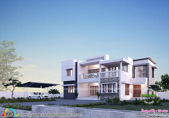 Duplex house in Coimbatore