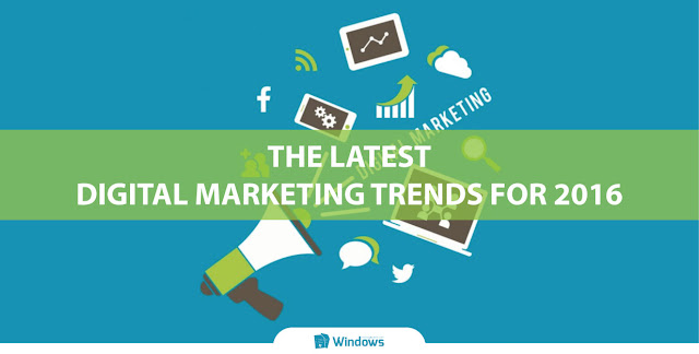The Latest Digital Marketing Trends for 2016