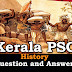 Kerala PSC History Question and Answers - 33