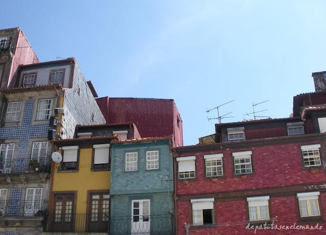 Barrio de Ribeira en Oporto