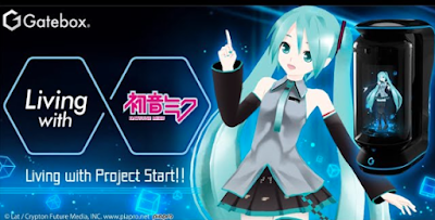 Hatsune Miku de Gatebox