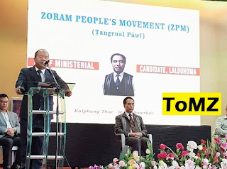 ZPM CHIEF MINISTERIAL CANDIDATE LALDUHOMA