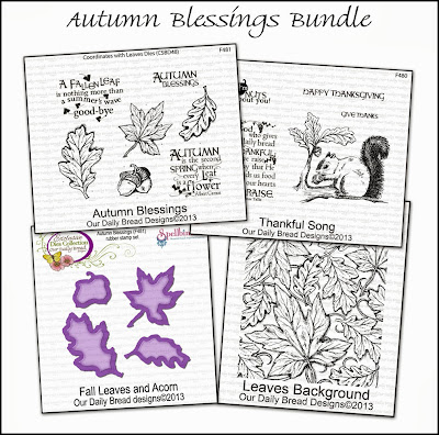 Stamps - Our Daily Bread Designs Autumn Blessings Bundle