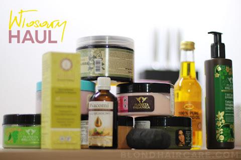 Włosowy haul: rosyjskie kosmetyki do włosów - czytaj dalej »