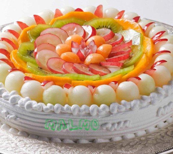 Fresh cream pineapple cake recipe