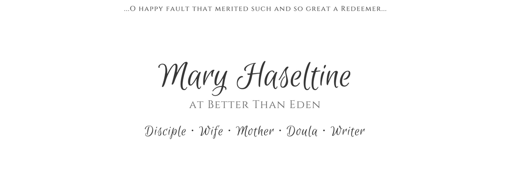 Mary Haseltine - Better Than Eden