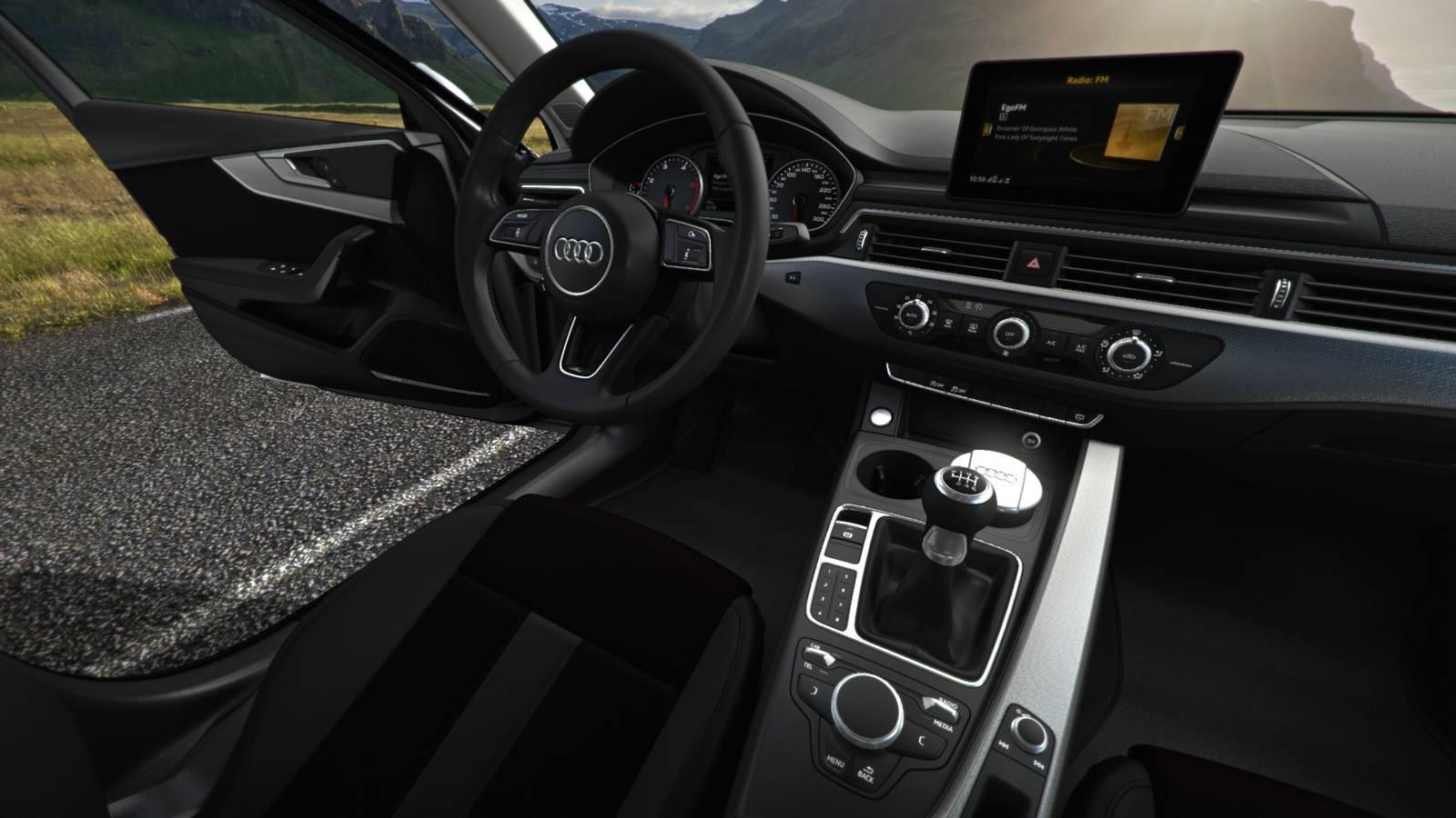 2017 audi a4 manual transmission