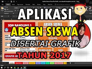 Download Aplikasi Absen Siswa Disertai Grafik Format Excel