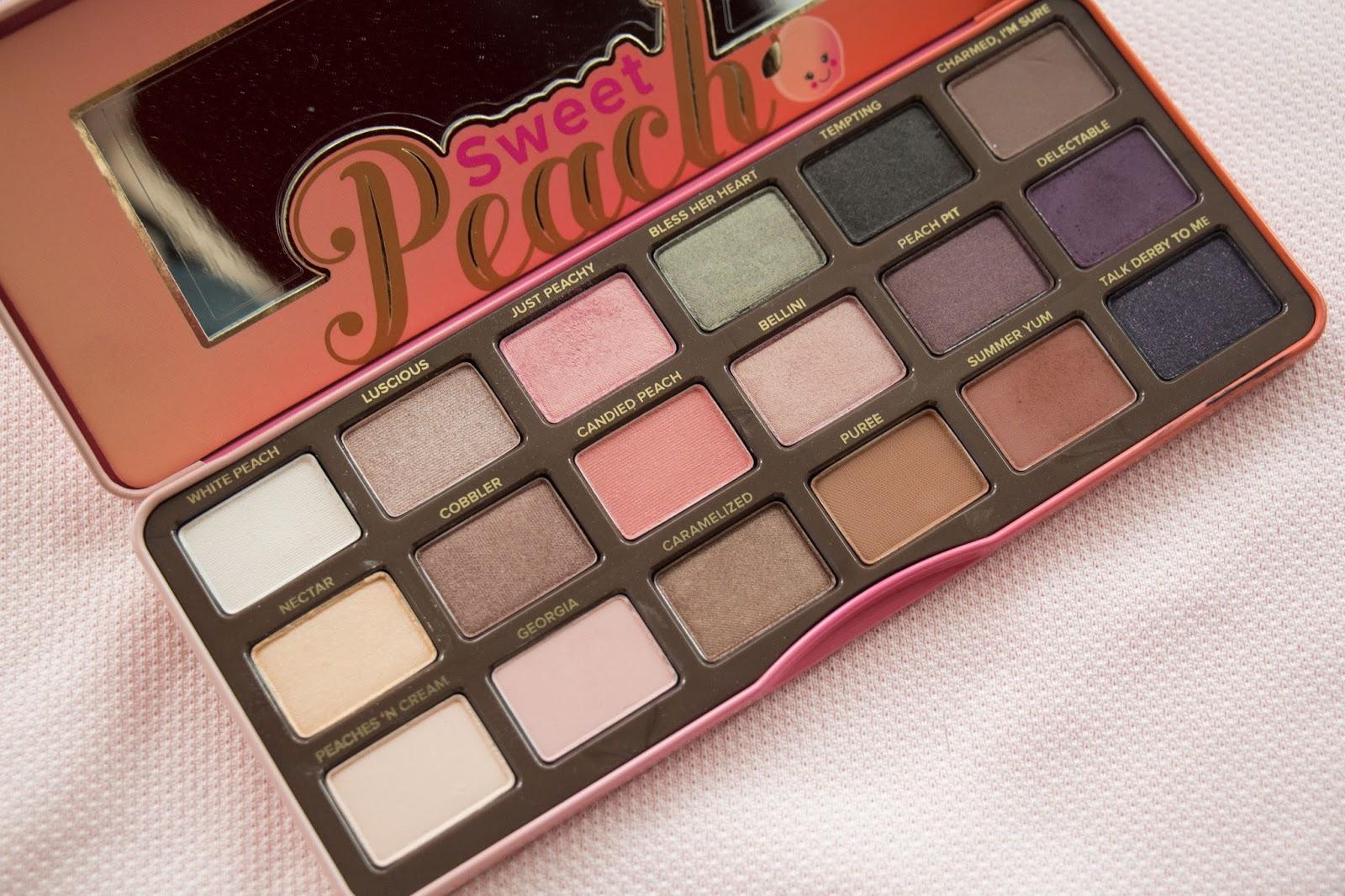 sweet peach palette # 81