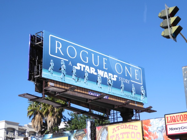 Rogue One Star Wars Stormtroopers billboard