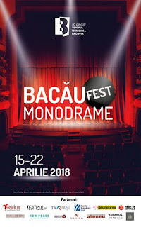Program Bacau Fest Monodrame 2018