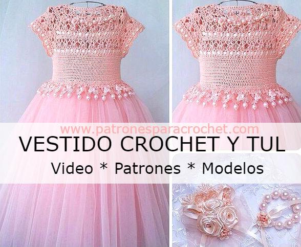 vestido-niña-crochet-y-tul