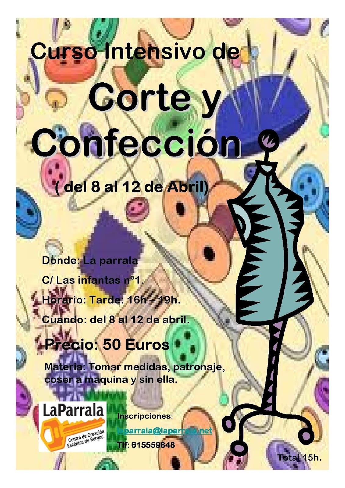 830f8b621e74 La Parrala  CURSO DE CORTE Y CONFECCIÓN