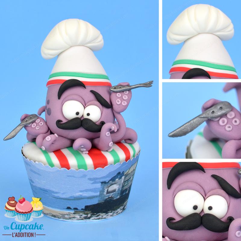 Cupcakes Hendayeses: el Calamar Oskar y la Fiesta del Chipirón