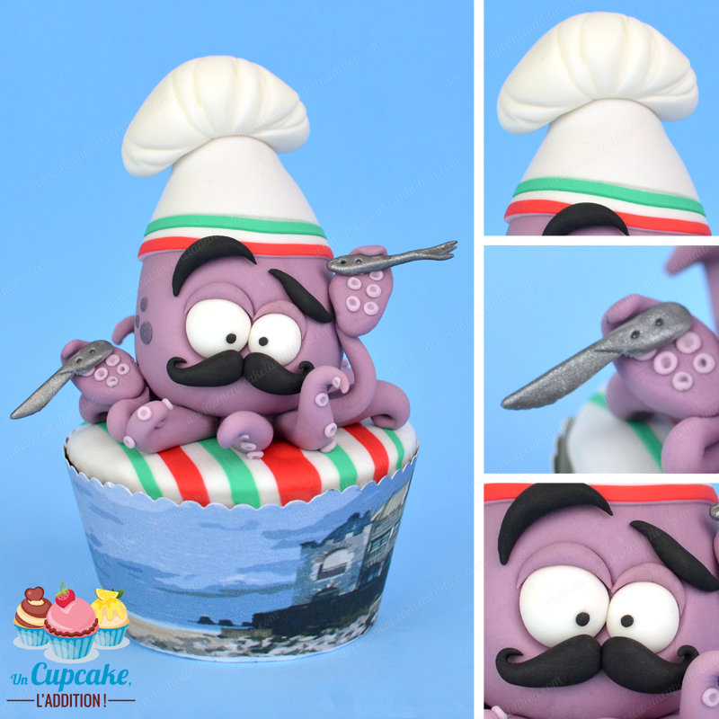 Cupcakes Hendayais : Oskar, le Calmar ou la Fête du Chipiron