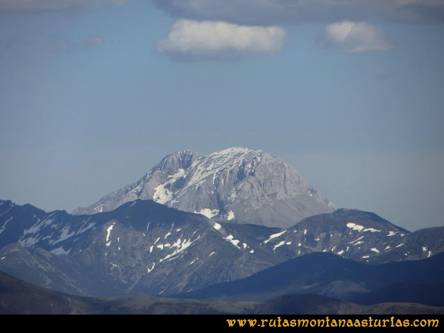 Transcantábrica Tarna-Ponga: Vista del Espiguete desde Pozúa