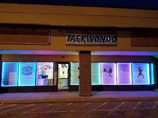 The front of the Lakewood martial arts CTI