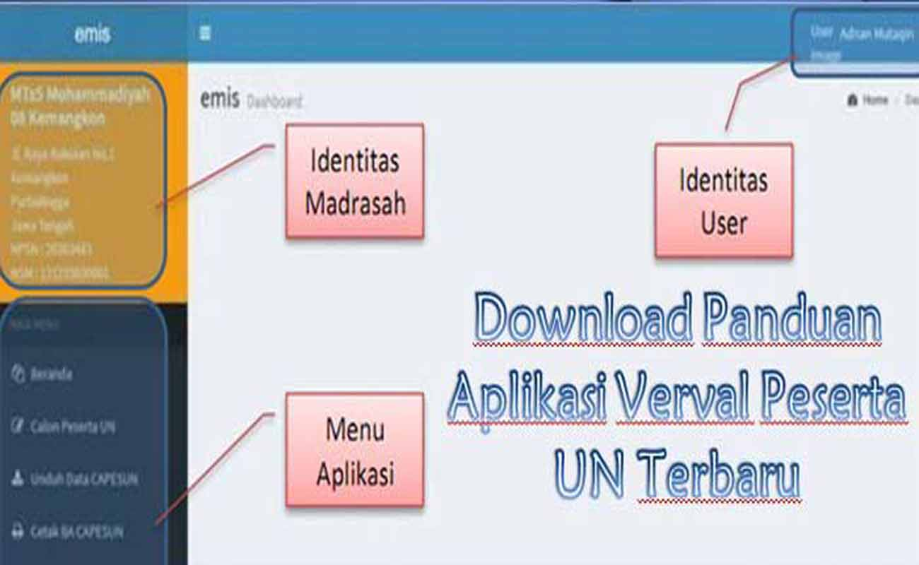 Download Panduan Aplikasi Verval Peserta UN Terbaru