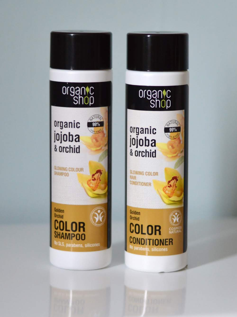 Organic Shop Jojoba Shampoo & Conditioner