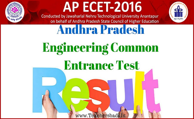 AP ECET,Results,ECET Results