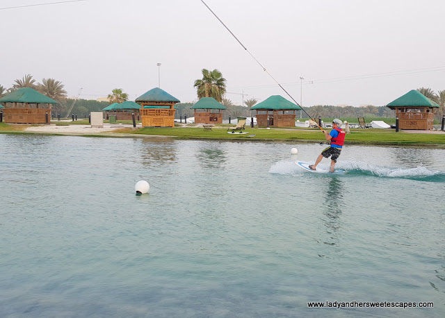 Wakeboarding at Al Forsan International Sports Resort