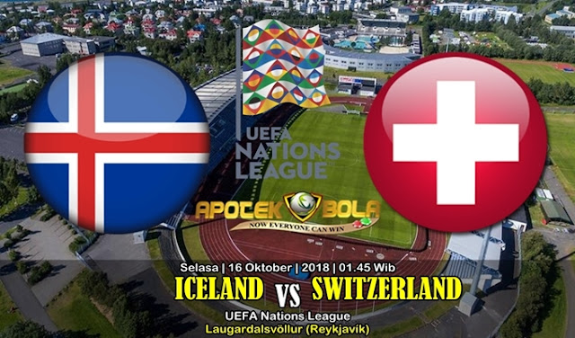 Prediksi Islandia vs Swiss 16 Oktober 2018