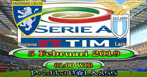Prediksi Bola855 Frosinone vs Lazio 5 Februari 2019