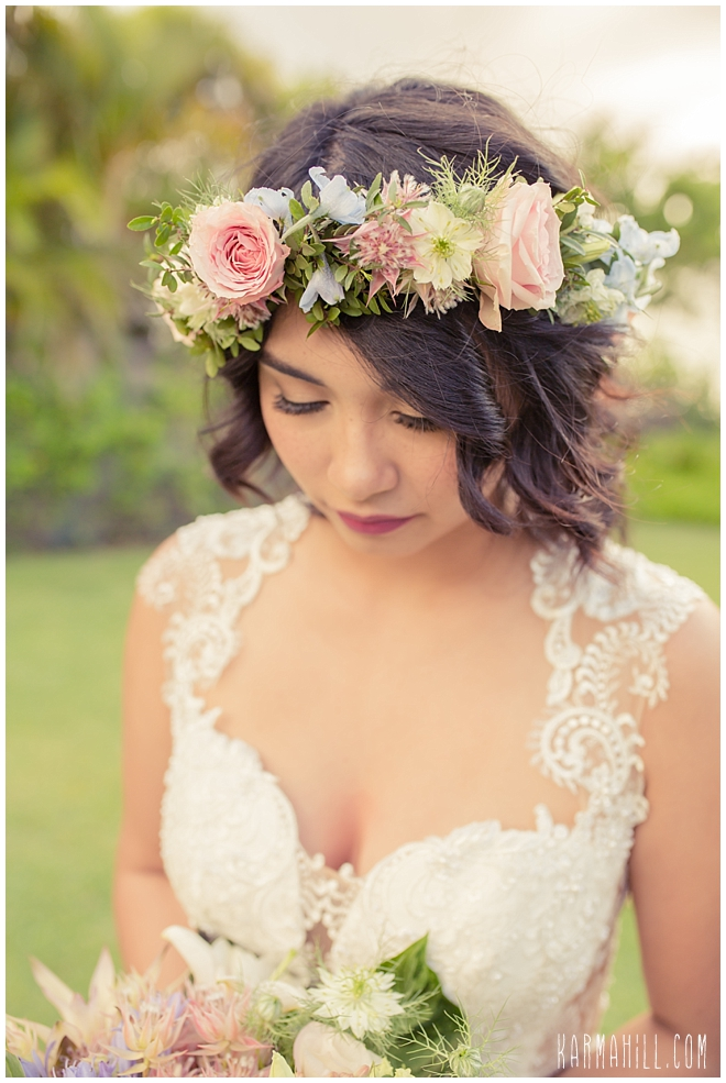 Maui Wedding Portrait
