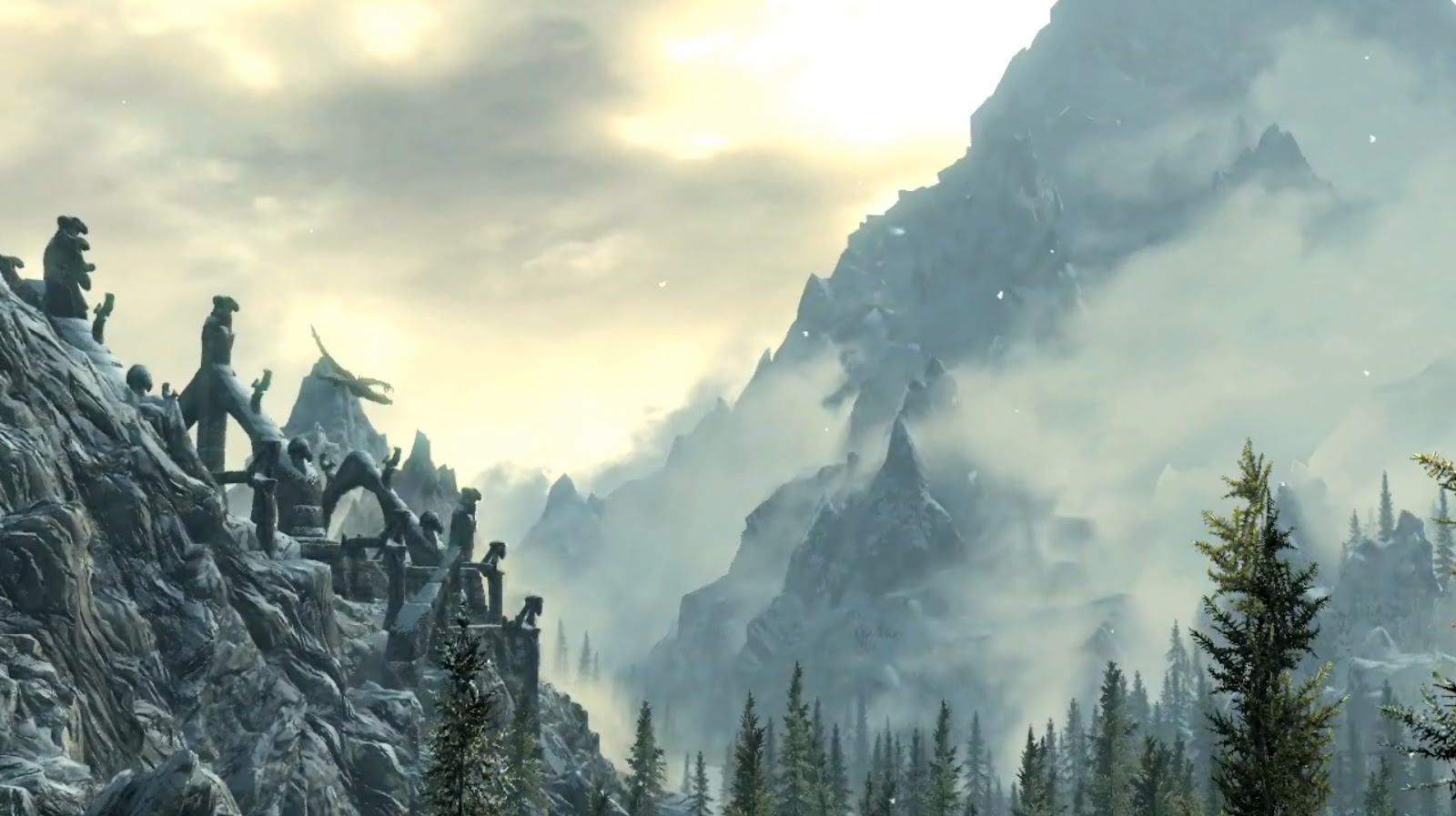 Rain Fall Live Wallpaper Geography Of Skyrim