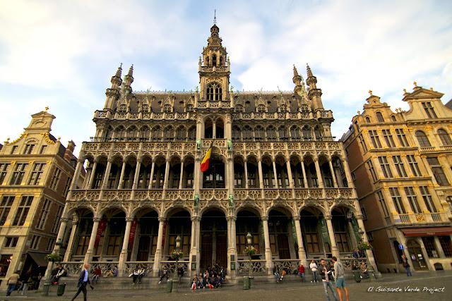 Maison du Roi en Grand Place por El Guisante Verde Project