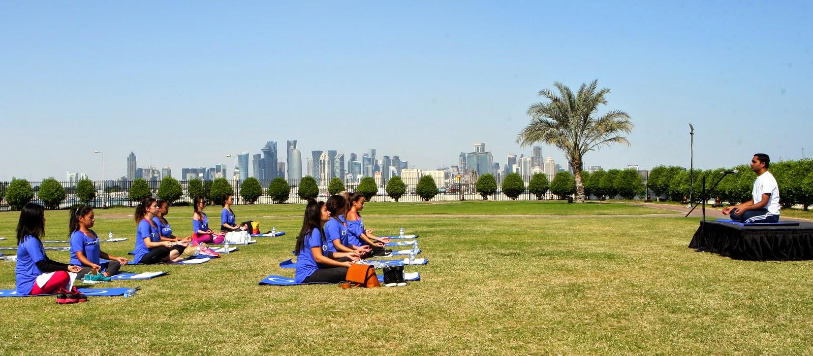 Oysho Yoga Day Doha Bonjour Chiara