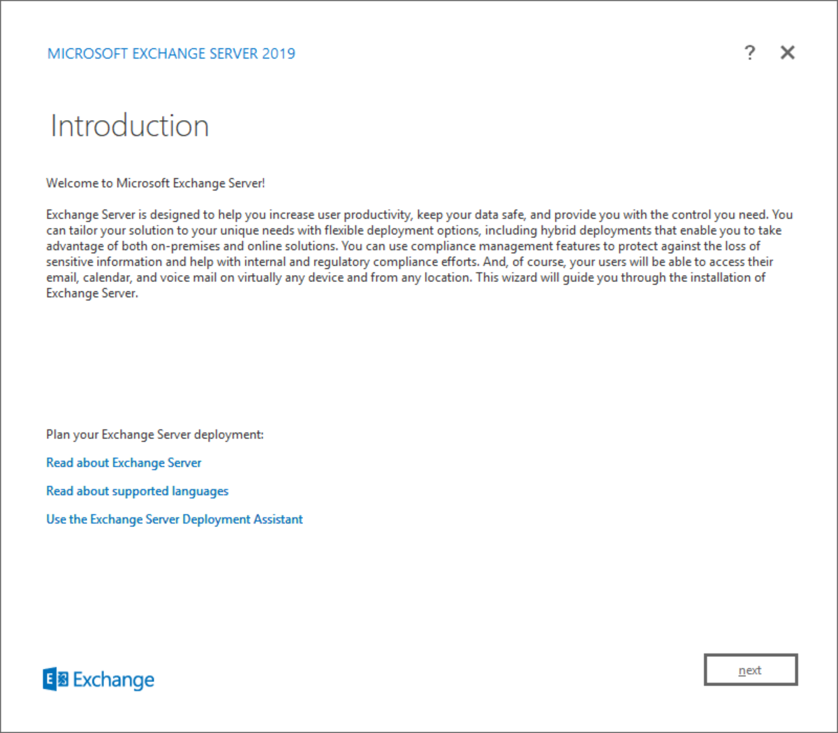 Lets Exchange: Installing Exchange Server 2019 Preview on Windows