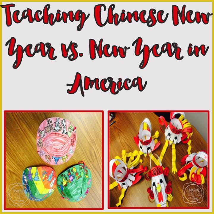 Teaching Chinese New Year Vs New Year In America