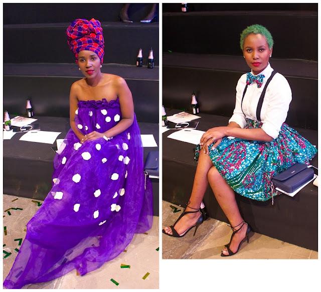 Liz Ndegwa and Anne Ciku Ndegwa