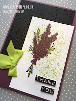Lots of Lavender and Fresh Fig by Stampin' Up!