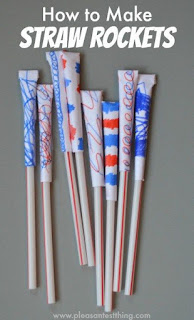 Make Straw Rockets